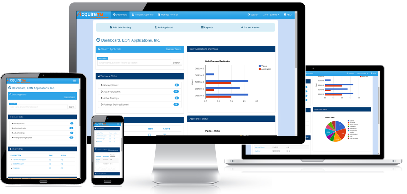 AcquireTM Applicant Tracking Software – EON Applications, Inc